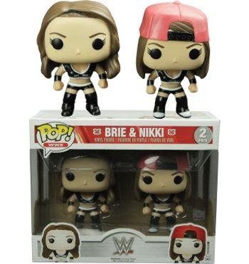 image de Brie & Nikki (Bella Twins) (Black Uniform)