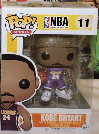 image de Kobe Bryant (Purple - No. 24 Jersey)