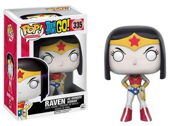 image de Raven as Wonder Woman