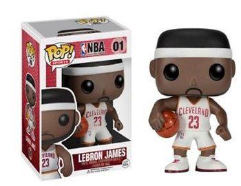 image de Lebron James (Cavaliers) (White Jersey)