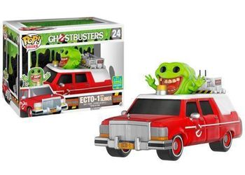 image de ECTO-1 (Red) with Slimer [Summer Convention]