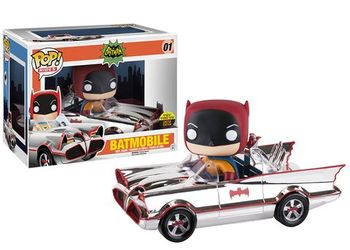 image de Batmobile #01 (Chrome) [Toy Tokyo]