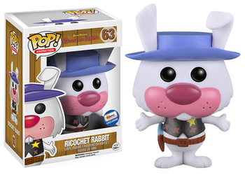 image de Ricochet Rabbit (Flocked)