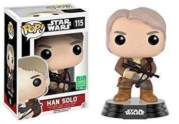 image de Han Solo (The Force Awakens) (w/ Bowcaster) [Summer Convention]