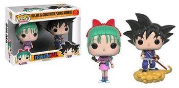 image de Bulma & Goku with Flying Nimbus