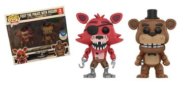image de Foxy The Pirate With Freddy (2 Pack)