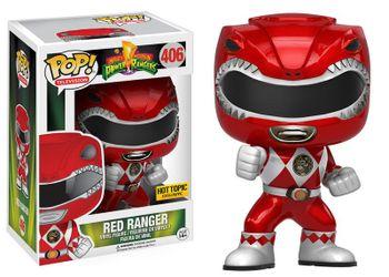 image de Red Ranger (Metallic) (Action Pose)