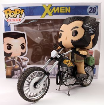image de Wolverine's Motorcycle #26 (Bobble-Head) [Marvel Collector *Corps*]