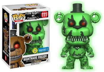 image de Nightmare Freddy (Glow in the Dark)