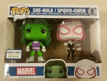 image de She-Hulk / Spider-Gwen 2-Pack