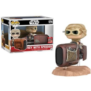 image de Rey with Speeder [Galactic Convention]