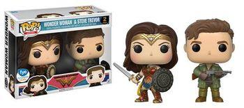 image de Wonder Woman & Steve Trevor (2-PacK)