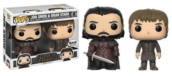 image de Jon Snow & Bran Stark (2-Pack)
