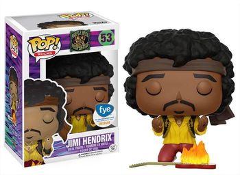 image de Jimi Hendrix (Burning Guitar)