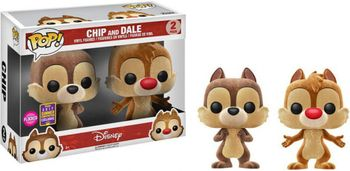 image de Chip and Dale (Flocked) (2-Pack) [Summer Convention]
