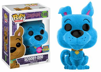 image de Scooby-Doo #149 (Blue, Flocked) [2017 SDCC Saturday Morning Cartoons]