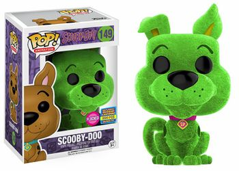 image de Scooby-Doo #149 (Green, Flocked) [2017 SDCC Saturday Morning Cartoons]