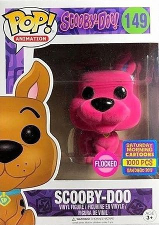 image de Scooby-Doo #149 (Pink, Flocked) [2017 SDCC Saturday Morning Cartoons]