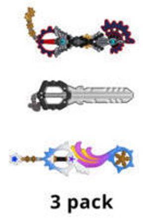 image de Keyblade (3-Pack)