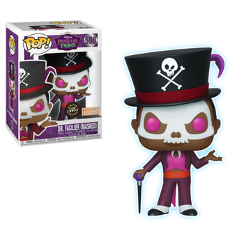 image de Dr. Facilier (Masked) (Glow in the Dark)