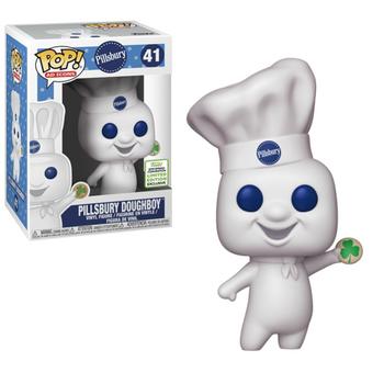 image de Pillsbury Doughboy (Shamrock Cookie) [Spring Convention]
