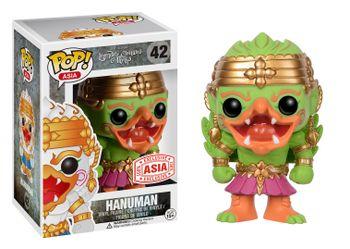 image de Hanuman (Green/Pink)