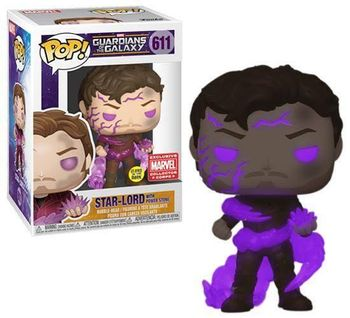 image de Star-Lord With Power Stone #611 (Glow, Bobble-Head) [Marvel Collector *Corps*]