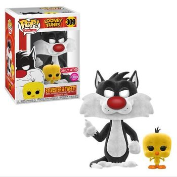 image de Sylvester & Tweety (Flocked)