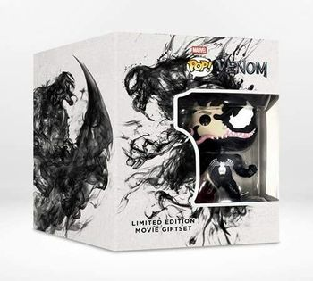 image de Venom (Eddie Brock) (Blu-Ray) (Limited Edition Movie Giftset)