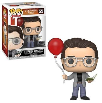 image de Stephen King with Red Balloon