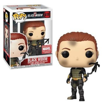 image de Black Widow #619 (Battle Damaged, Bobble-Head) [Marvel Collector *Corps*]