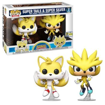 image de Super Tails & Super Silver (2-Pack) [SDCC]