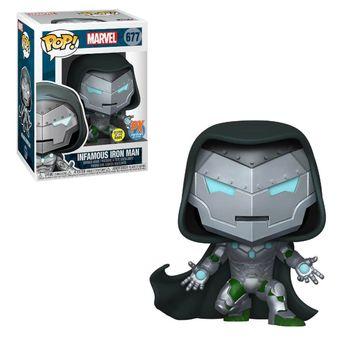 image de Infamous Iron Man (Glow in the Dark)