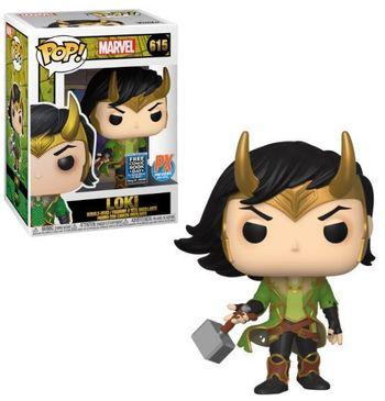 image de Loki #615 (Bobble-Head) [2020 Free Comic Book Day, PX Previews]
