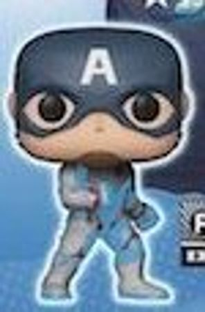 image de Captain America (Quantum Realm Suit) (Glow in the Dark)
