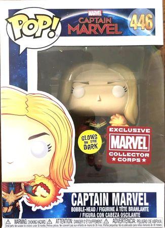 image de Captain Marvel (Flying) (Unmasked)