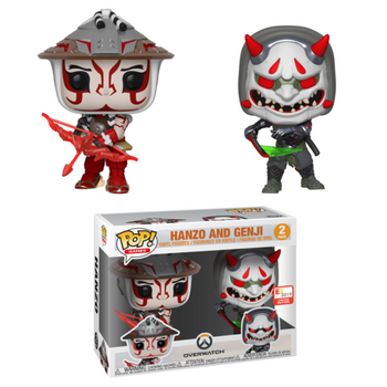 image de Hanzo And Genji (2-Pack)