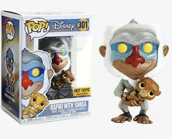 image de Rafiki with Simba (Diamond Collection)