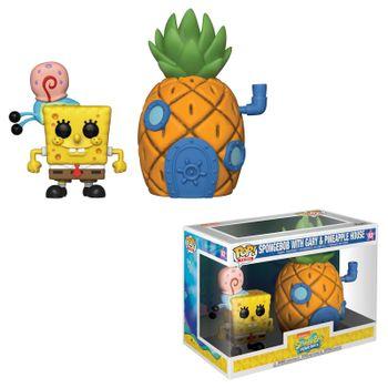 image de Spongebob with Gary & Pineapple House