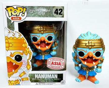 image de Hanuman (Light Blue)