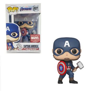 image de Captain America (with Mjolnir)