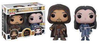 image de Aragorn & Arwen (2-Pack) [SDCC]