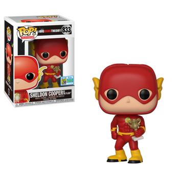 image de Sheldon Cooper as The Flash [SDCC]
