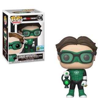 image de Leonard Hofstadter as Green Lantern [SDCC]