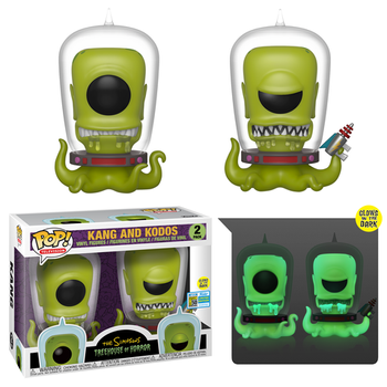 image de Kang and Kodos (Glow in the Dark) (2-Pack) [SDCC]