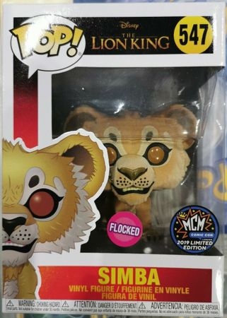 image de Simba (Live Action) (Flocked) [MCM]