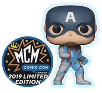 image de Captain America (Quantum Realm Suit) (Glow in the Dark) [MCM]