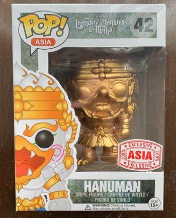 image de Hanuman (Gold)