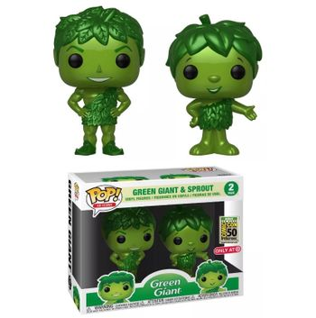 image de Green Giant & Sprout (Metallic 2-Pack) [SDCC Debut]
