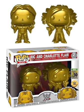 image de Ric and Charlotte Flair (Gold 2-Pack) [SDCC Debut]